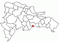 Location of the Distrito Nacional