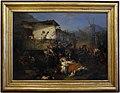 Domenico induno, i profughi da un villaggio incendiato, 1851.jpg
