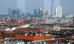 Donau City seen from ferris wheel Vienna.jpg