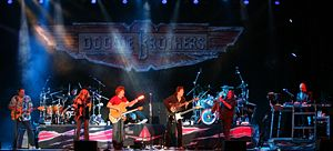 The Doobie Brothers - The Doobies in concert at the Chumash Casino Resort in Santa Ynez, California, on August 31, 2006