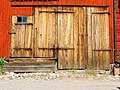 Doors to an older utility building in central Sweden.jpg