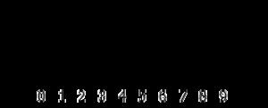 Dot plot (statistics) - A dot plot of 50 random values from 0 to 9.