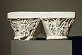 Double capital from Tyniec, 1100, exh. Benedictines NG Prague, 150835.jpg