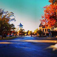 Downtown Riverside, Illinois