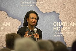At Chatham House in London, 2015 (Image: CH)
