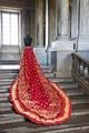 Drottning Sofias guldbröllopssläp - Livrustkammaren - 87017.tif