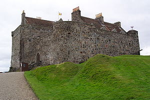Clan Maclean - Duart Castle, historic seat of the chiefs of the Clan Maclean