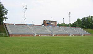 Duck Samford Stadium - Image: Duck Samford Stadium home stands