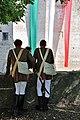 Due soldati attendono l'inizio della Rievocazione Storica della Battaglia di Montechiarugolo - Montechiarugolo (PR) Italia - 2 Ottobre 2011 - panoramio.jpg