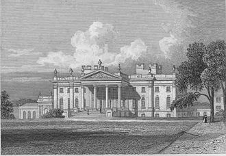 Baron Feversham - Duncombe Park circa 1829.