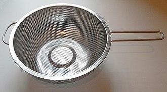Colander - A stainless-steel colander
