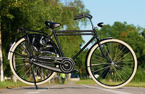 Dutch bicycle a.k.a Roadster bicycle