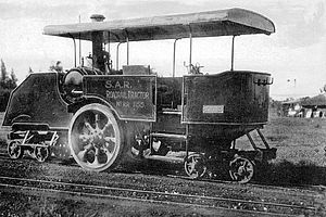 South African Dutton road-rail tractors - Dutton rail-only tractor no. RR1155, c. 1924