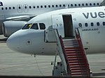 EC-LZZ, A320 of Vueling, Bilbao Airport, May 2019 (03).jpg