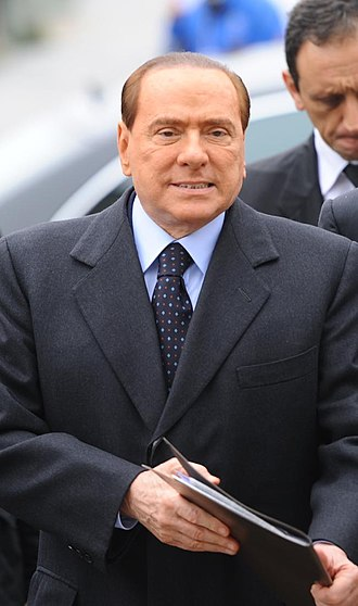 The People of Freedom - Silvio Berlusconi in 2012.