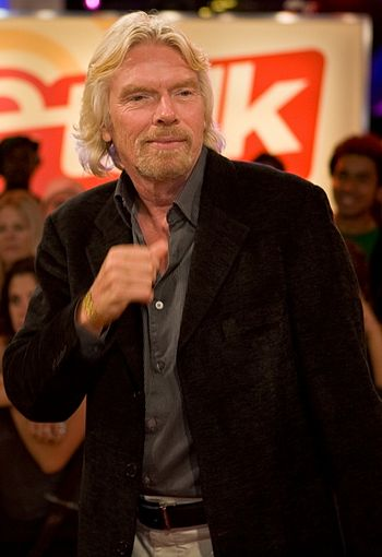 English: Sir Richard Branson at the eTalk Fest...