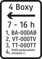 E 13 - Dodatková tabuľka pre vyhradené parkovanie (vzor).png