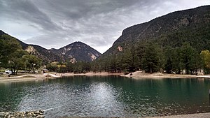 Questa, New Mexico - Eagle Rock Lake Questa, NM