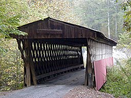 Easley Covered Bridge i Blount County, Alabama