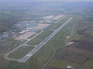 East Midlands Airport international airport in the East Midlands of England