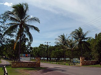 East Point, Northern Territory - Entrance into East Point