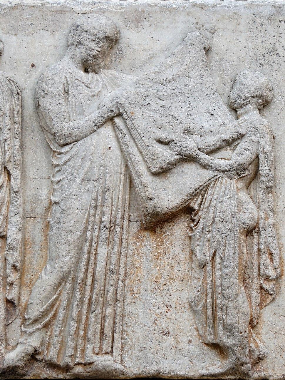 East frieze 34-35 Parthenon BM