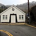 East side of the St John Ambulance hall, Risca (geograph 5232547).jpg