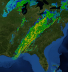 Eastern US squall line 30 January 2013 radar mosaic.png