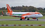 EasyJet (Europcar livery) Airbus A320-214 (G-EZPC) at Manchester Airport.jpg