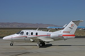 Eclipse 500 - Flight test aircraft at Mojave