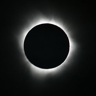 Christianization of Iberia - Solar eclipse of July 11, 2010, totality seen from the French Polynesia.