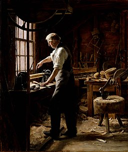 Edgar Melville Ward - The Blockmaker - 1912.2.1 - Smithsonian American Art Museum
