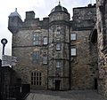Edinburgh Castle, Royal Palace north face.jpg