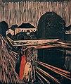 Edvard Munch. The Girls on the Bridge (Pikene på broen) 1919–20 (24939227781).jpg