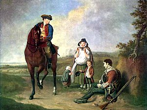 Edward Penny - The Marquess of Granby relieving a Sick Soldier, exhibited 1765.