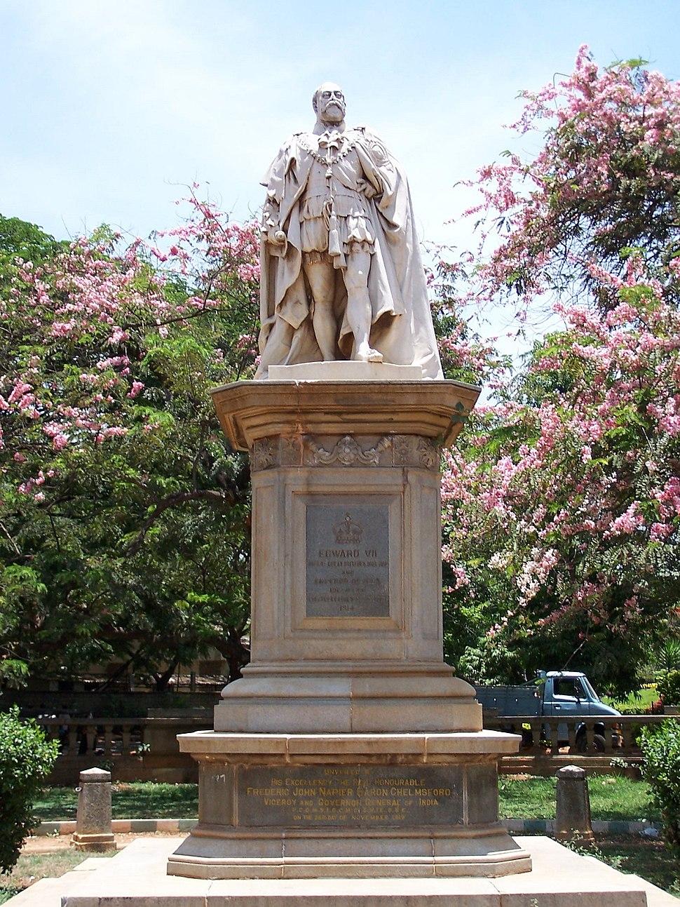 Edward VII Front Full, Bangalore