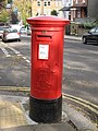Edward VII postbox, Willoughby Road - Rudall Crescent, NW3 - geograph.org.uk - 1073534.jpg