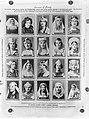 Een vel sluitzegels met portretten, die ook gebruikt zijn op de tickets lootjes, Bestanddeelnr 190-0971.jpg