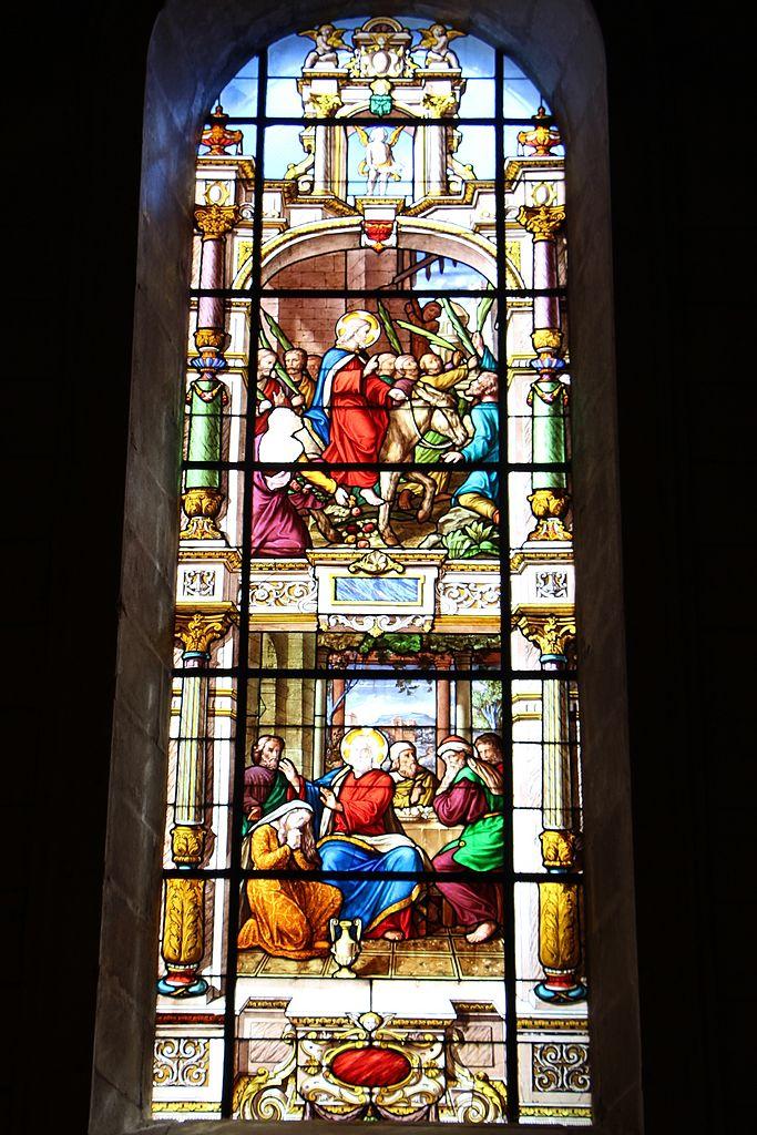 Fichier eglise saint louis de la roche sur yon vitraux lusson et lef vre wikip dia - Magasin deco la roche sur yon ...