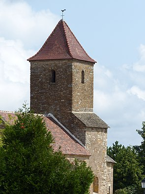 Eglise Saint-Maurice-des-Champs Clocher.JPG