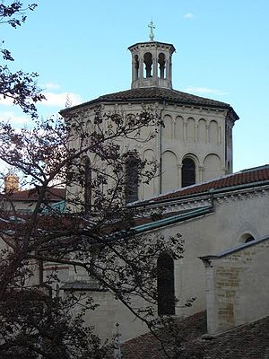 Église Saint-Paul - The tower-lantern of the church