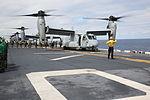 Eight Ospreys take off from USS Bonhomme Richard 150313-M-WM612-053.jpg