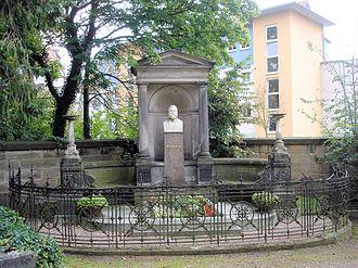 Fritz Reuter - Fritz Reuter's gravesite in Eisenach.