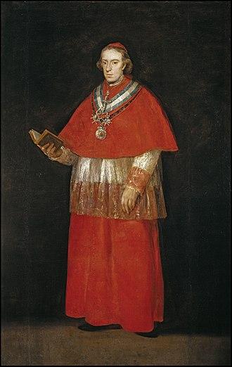 Luis María de Borbón y Vallabriga - Luis María de Borbón y Vallabriga, 14th Count of Chinchón, Archbishop of Seville and Toledo, Cardinal
