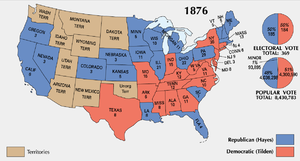 Presidential electoral votes by state