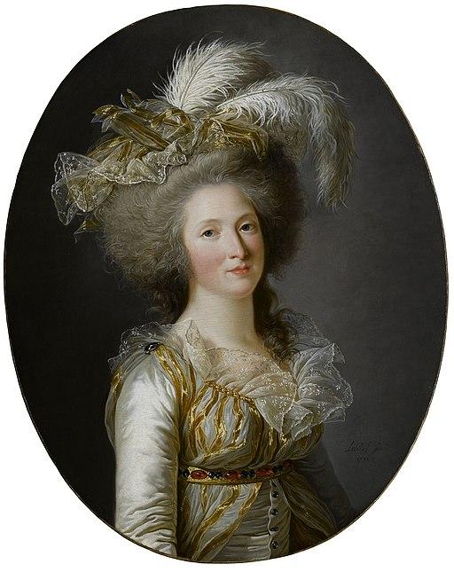 Elisabeth Philippine Marie Helene de Bourbon Labille-Guiard 1788
