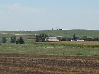 Ellis County, Kansas - Image: Elliscountryside