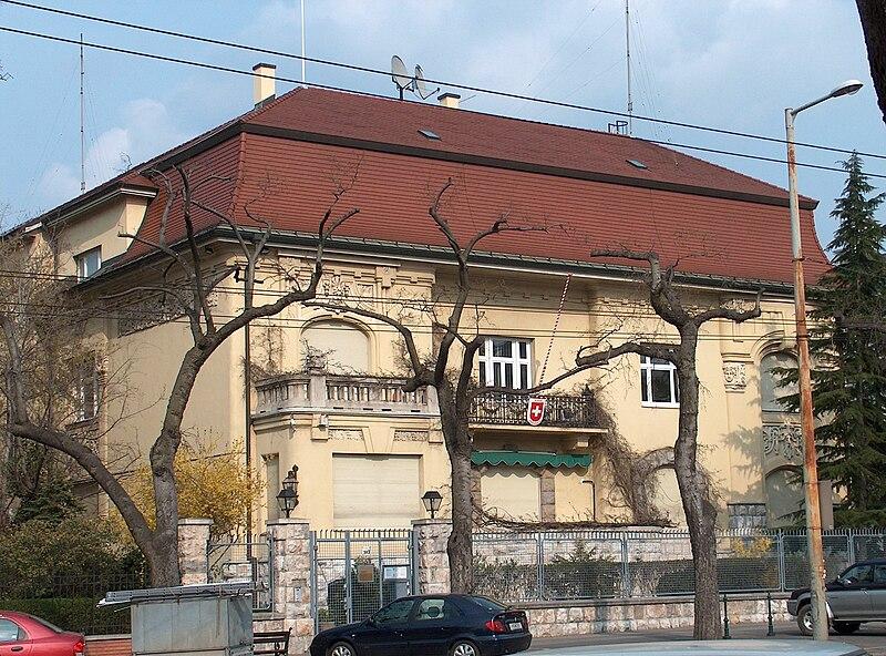 File:Embassy of Switzerland Budapest.jpg