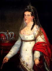 Portrait of Anna Maria Iturbide, Empress of Mexico