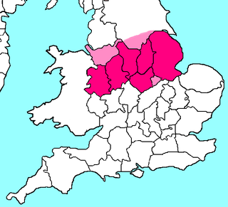 North Midlands proposed Combined authority area in England